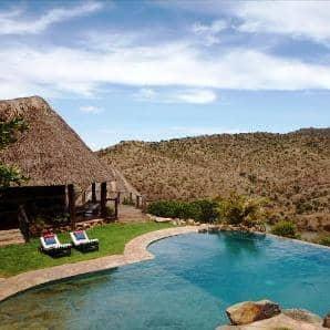 Luxury eco-lodge... Borana