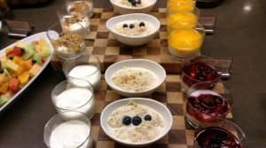 A healthy way to start the day...Fraser Suites Sydney buffet breakfast