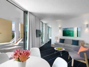One of the two bedroom apartments...Adina Apartment Hotel Bondi Beach