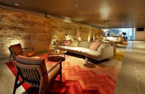 Inside the lobby...Adina Apartment Hotel Bondi Beach