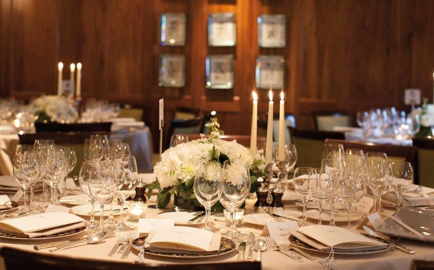 Fine dining: Le Manoir