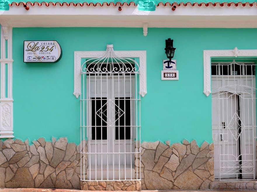 Bright and budget-friendly: Cuban hostel