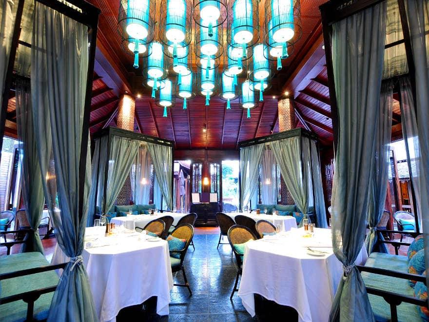 137 Pillars House Hotel Dining Room, Chiang Mai
