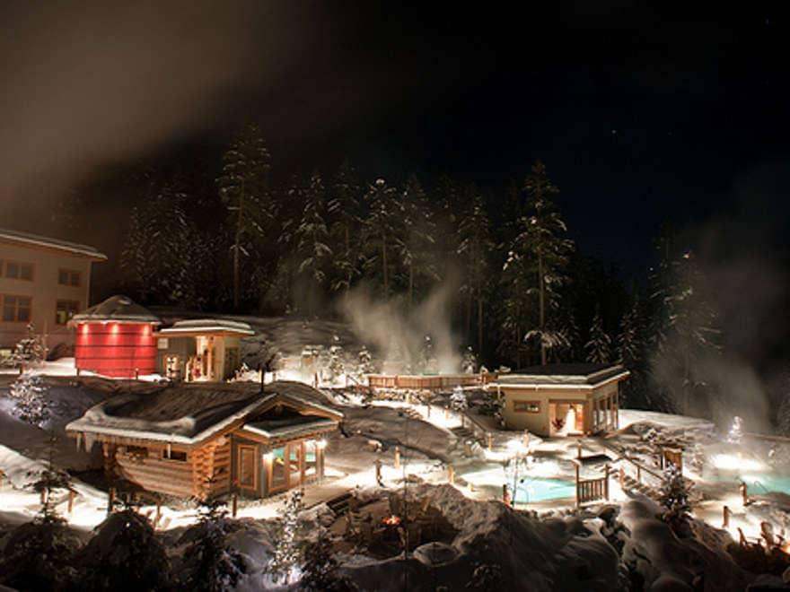 Scandinave Spa, Whistler,Canada