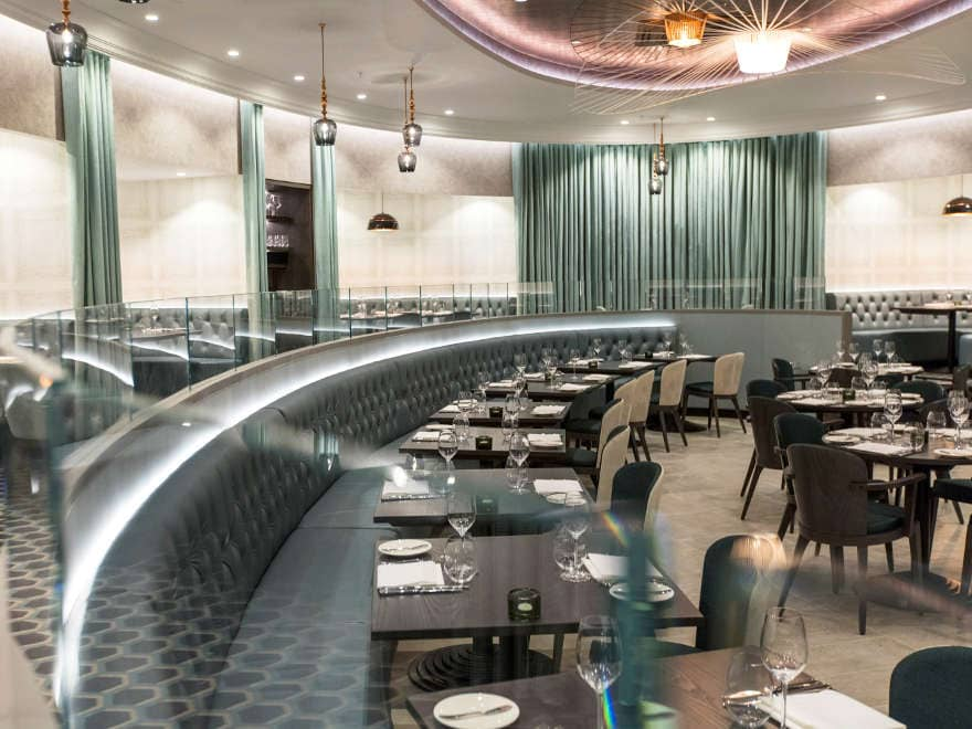 The Grill at M, Victoria St, London