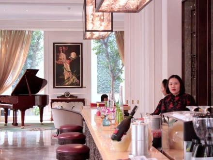 Café Bureaux Des Arts bar at MGallery Collection's Hotel Des Arts, Saigon.