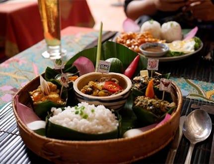 Asian food, Cambodia food - amok